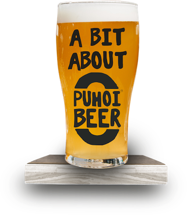 A pint of Puhoi Beer