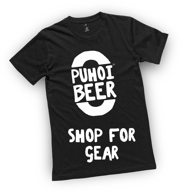 A Puhoi Beer T-Shirt - Shop for Gear